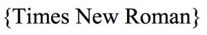 tipos de tipografia